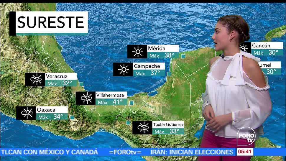 El clima, Daniela Álvarez, Persisten, altas temperaturas