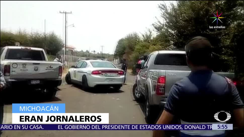 Asesinan, siete, hombres, Michoacán