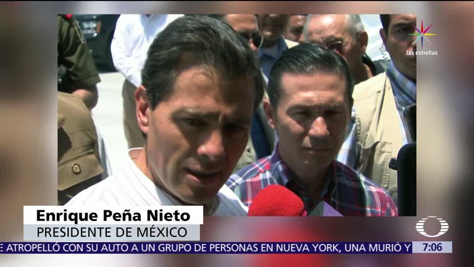 Enrique Peña Nieto, EPN, renegociación, TLCAN