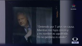noticias, noticieros televisa, El mensaje de Assange, Assange, WikiLeaks, Chelsea Manning