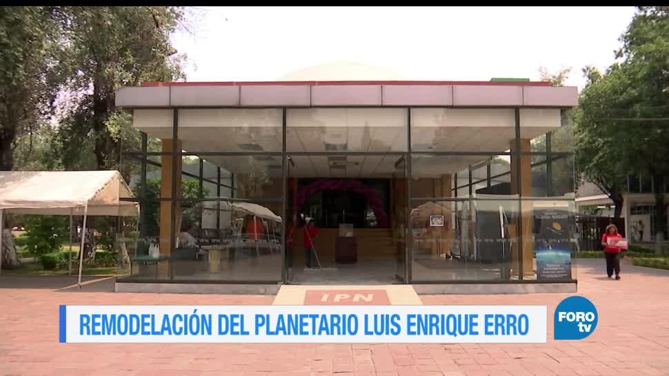 noticias, foroTV, El planetario, Luis Enrique Erro, planetario, ipn