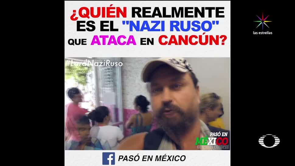Atacan, Cancún, ruso, insultó y agredió mexicanos, convocatoria, redes sociales