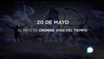 mito, Cronos, dios del tiempo, padre de Zeus
