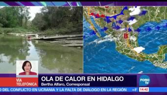 sensación, térmica, 67 grados, Hidalgo