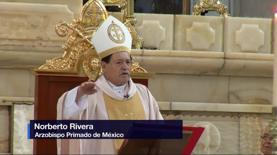 Iglesia católica, perdona agresión, cardenal Norberto Rivera, Catedral