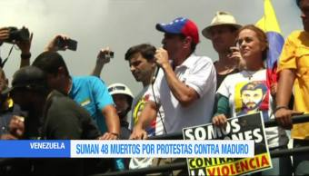 Suman, muertos, manifestaciones, Venezuela