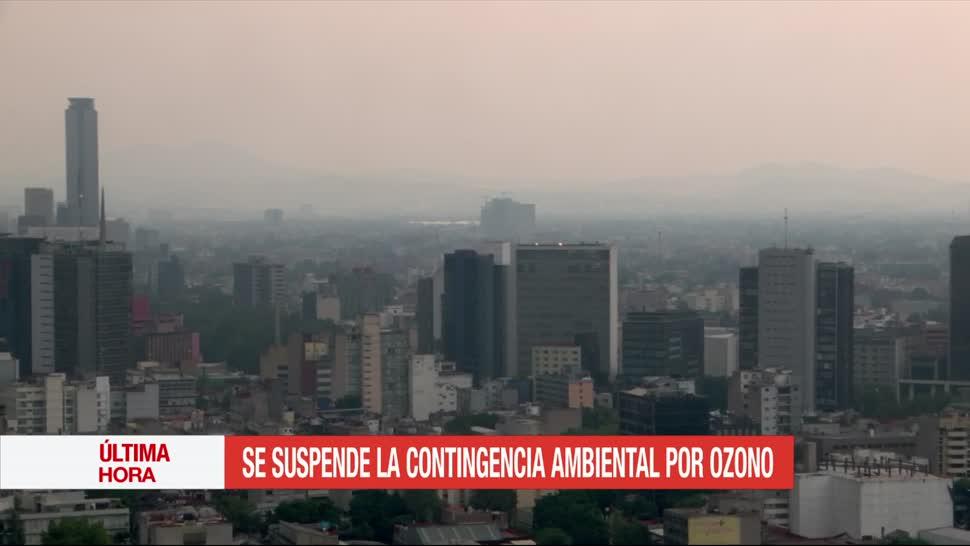 Comisión Ambiental de la Megalópolis (CAMe), Valle de México, suspende la contingencia, ambiental