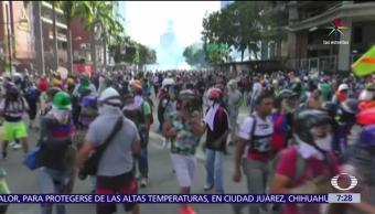 manifestaciones, presidente Nicolás Maduro, Venezuela, muertos