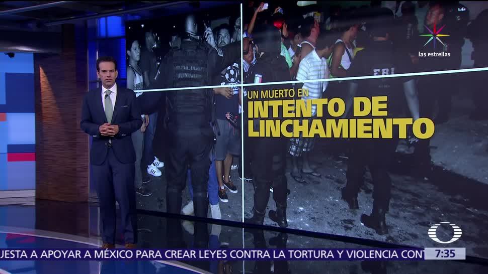 Cancún, intento de linchamiento, ciudadano ucraniano, agresiones racistas, internet