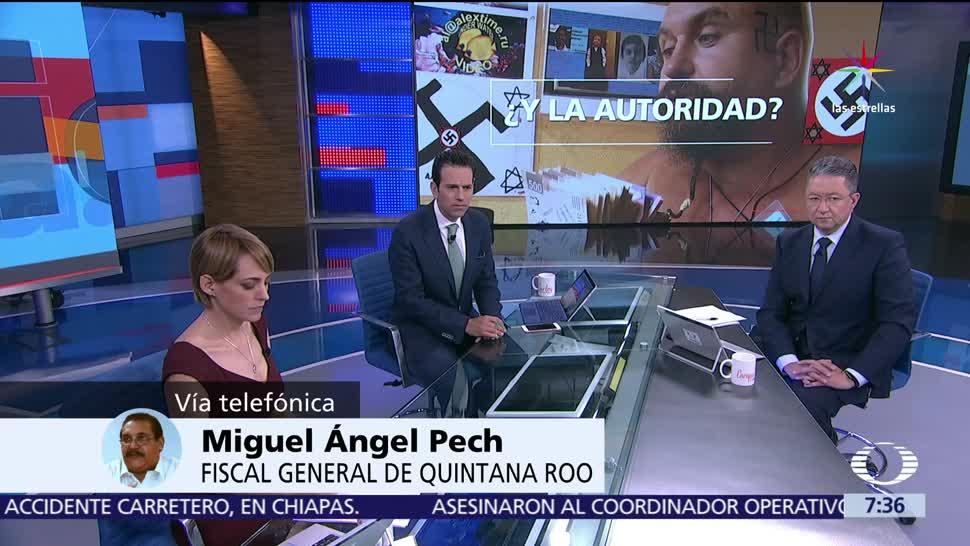 Miguel Ángel Pech, fiscal de Quintana Roo, Despierta con Loret, Aleksei Viktorovich