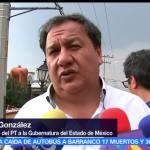 Partido del Trabajo (PT), Óscar González Yáñez, caravana en el Valle de Toluca