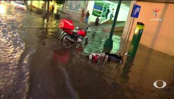noticias, televisa news, Se inunda Polanco, polanco, inundaciones, intensa granizada