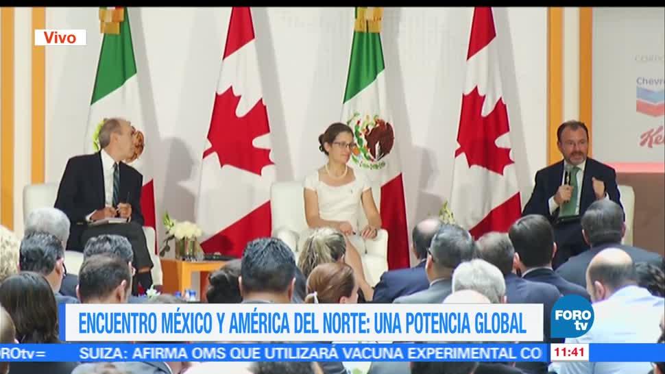 México, Canadá, comercio internacional, TLC, Luis Videgaray