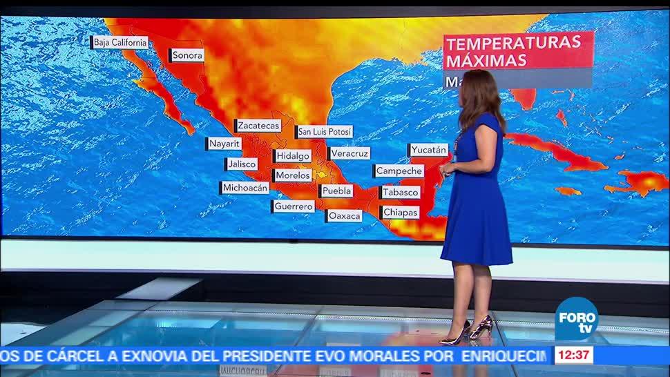 estados, ola de calor, Ciudad de México, lluvias