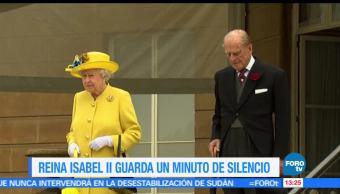 Reina Isabel II, minuto, silencio, atentado Manchester