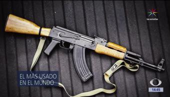 AK-47, más usado, mundo, Kalashnikov