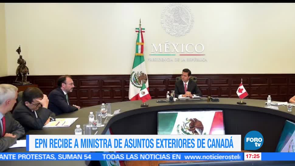 presidente, Enrique Peña Nieto EPN, Asuntos Exteriores, Canadá
