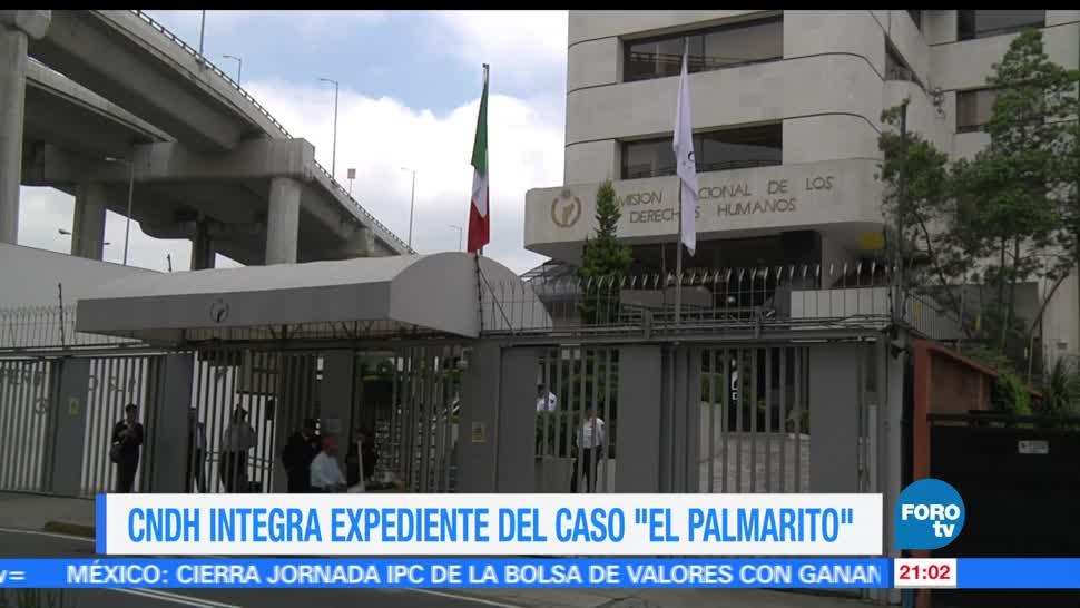 noticias, FOROtv, CNDH, integra expediente, enfrentamiento, El Palmarito
