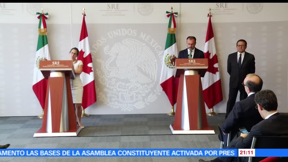 noticias, forotv, México y Canadá, coinciden, modernizar, TLCAN