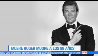 noticias, forotv, Roger Moore, celebridad, inmortalidad, muere