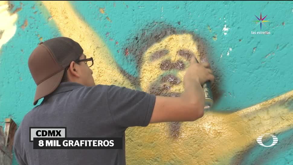 noticias, televisa, patrulla, antigraffiti, CDMX, grafiteadas