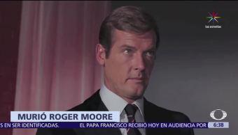 Roger Moore, 89 años, víctima de cáncer, James Bond, agente 007