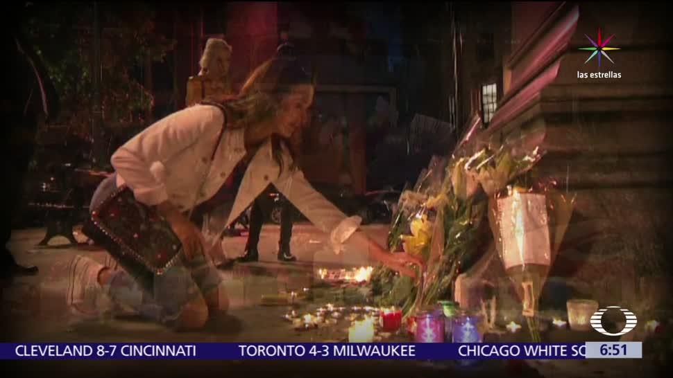 Habitantes de Manchester, homenaje a víctimas, atentado, concierto de Ariana Grande