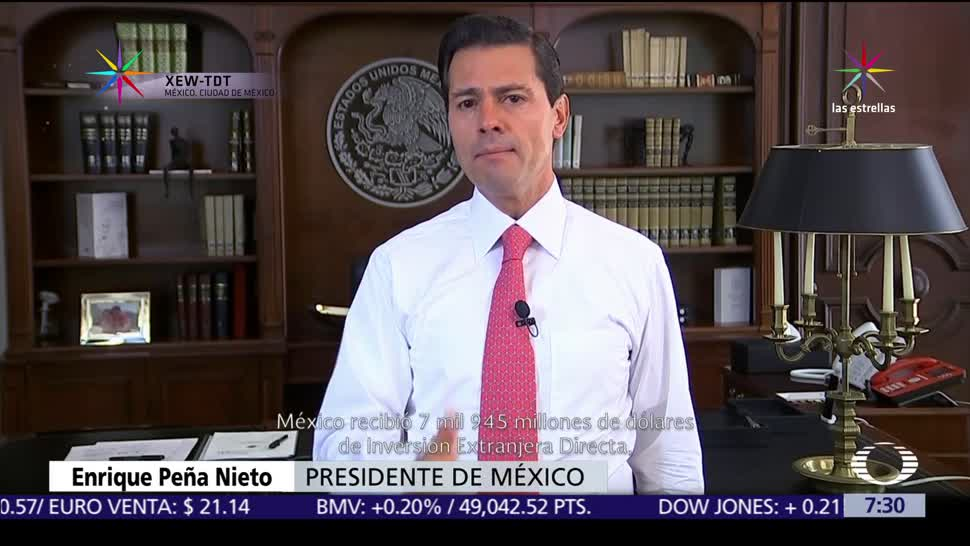 Enrique Peña Nieto, indicadores económicos, trimestre del 2017, finanzas