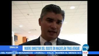 noticias, forotv, Muere, director, ISSSTE, Mazatlan