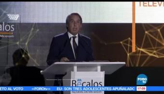 noticias, forotv, Celebración del programa Bécalos 2017, becalos, celebracion, Emilio Azcárraga Jean