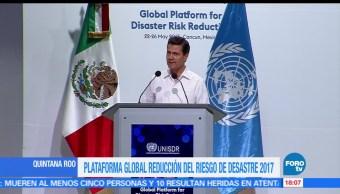 notcias, forotv, EPN, respaldar, países caribeños, riesgo de desastres naturales