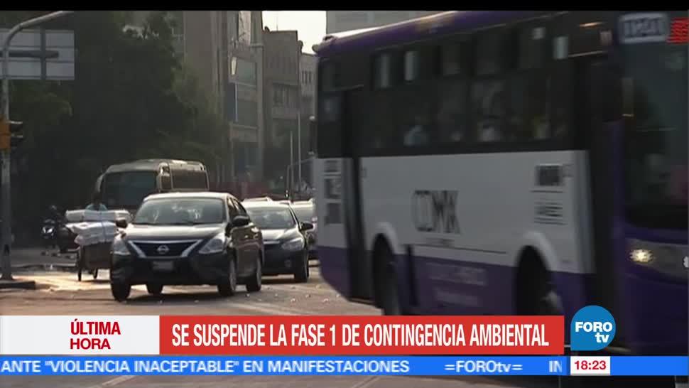 noticias, forotv, Suspenden, contingencia ambiental, Valle de México, suspendieron la fase 1
