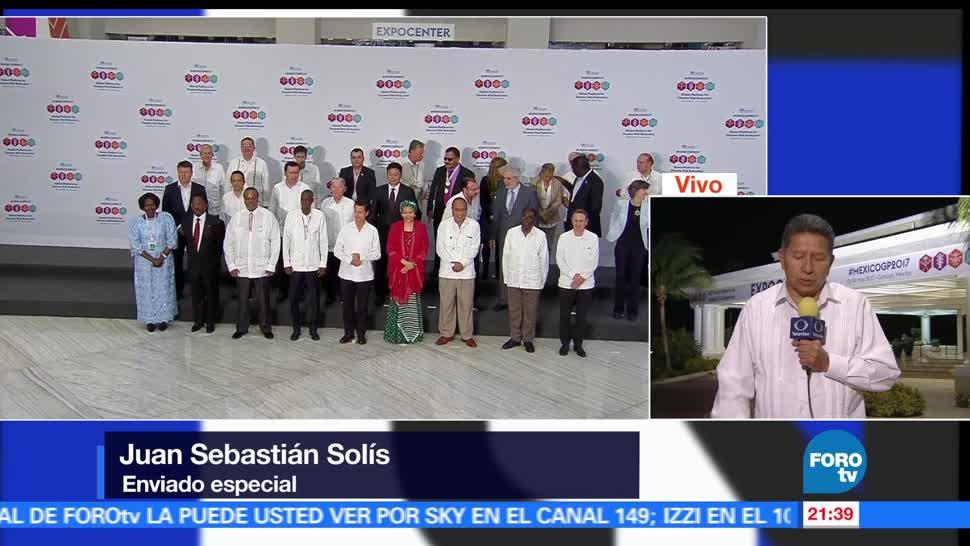 Actividades, EPN, Cancún, Plataforma, Global, Reducción del Riego de Desastres