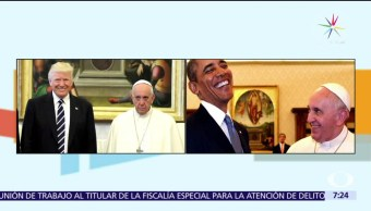 contraste, actitud del papa Francisco, Donald Trump, Barack Obama, Vaticano