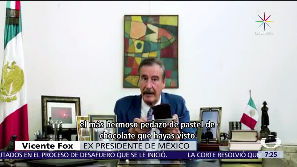 video, Vicente Fox, recomendaciones a Donald Trump, buen presidente