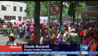 noticias, fofrotv, Manifestantes, mitin, Bucareli, CDMX