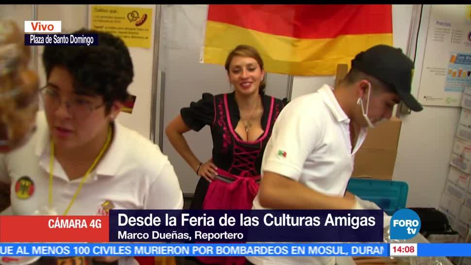 noticias, forotv, Inicia, Feria de las Culturas Amigas, CDMX, Culturas Amigas