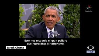 noticias, forotv, Barack Obama, aclamado, Alemania, Berlín
