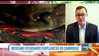 noticias, forotv, mexicano, estudiara, exoplanetas, Luis Welbanks