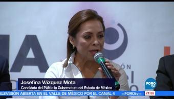 Josefina, Vázquez, Mota, Tlalnepantla, gubernatura, Estado de México