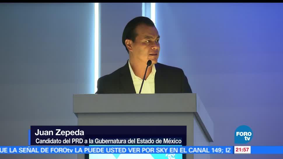 Juan, Zepeda, visita, Tlalnepantla, PRD, Estado de México