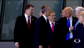 Clases, estilo, Donald, Trump, OTAN, Cumbre