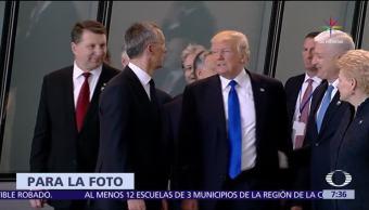 Trump empuja, primer ministro, Montenegro, OTAN
