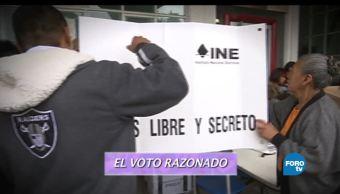 Consuelo Mendoza, presidenta de la Unión Nacional de Padres de Familia, derecho, ejercer un voto razonado