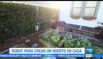 Robot, huerto en casa, Ximena Cervantes, Farmbot