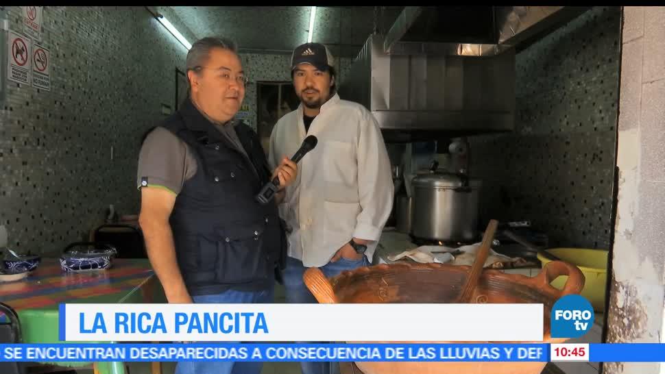 Viernes culinario, Enrique Muñoz, rica, pancita