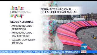 Cuauhtémoc Cárdenas, coordinador de Asuntos Internacionales de la CDMX, Feria de Culturas Amigas, muestras gastronómicas