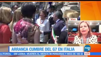 Balance, primer día, Cumbre del G7, Valentina Alazraki