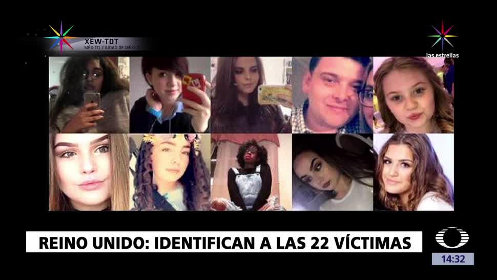 noticias, forotv, Identifican, 22 víctimas, Manchester, Reino Unido