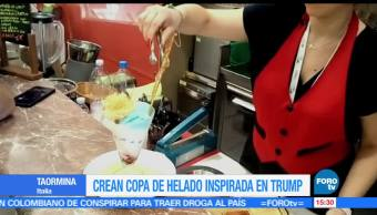 noticias, forotv, Crean, copa de helado, inspirada, Trump